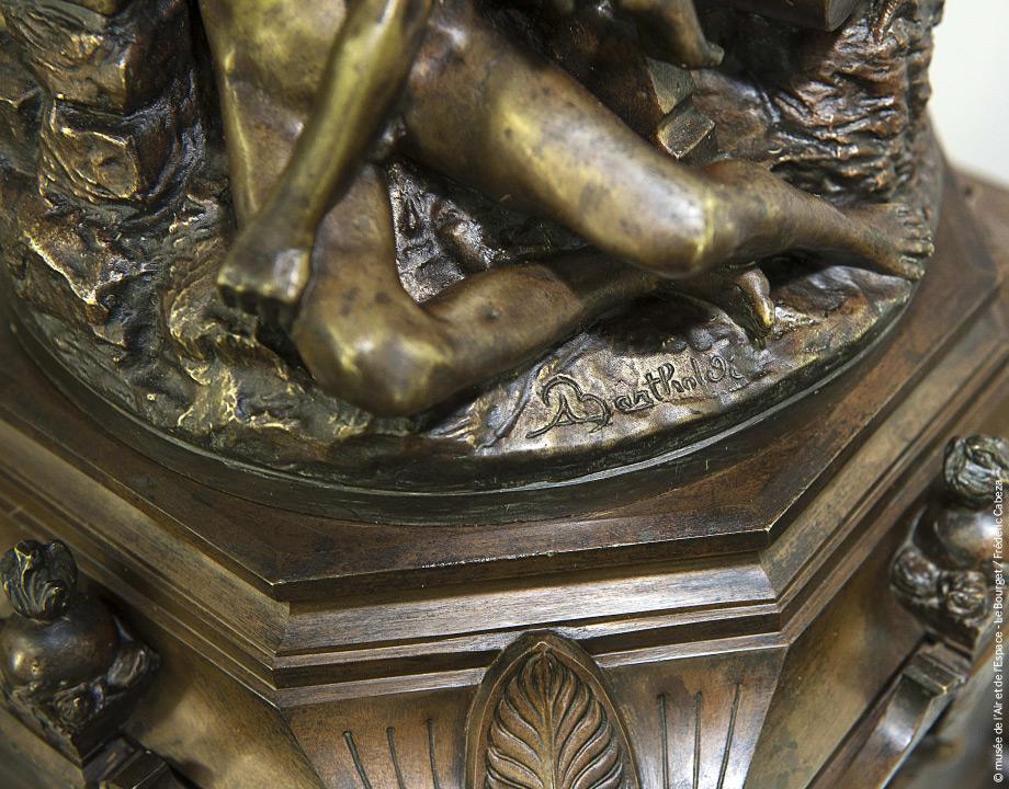 Socle Bartholdi après restauration