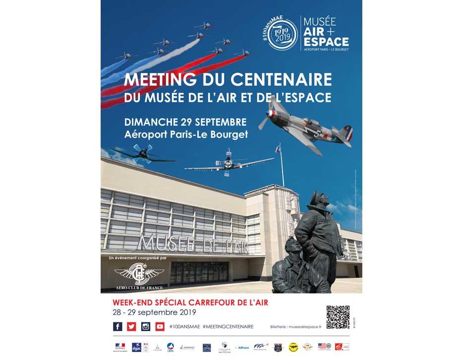 Centenaire du Musée de l'air et de l'espace - Le bourget - Affiche-meeting-100-ans-musee-air-espace-920-720-29072019